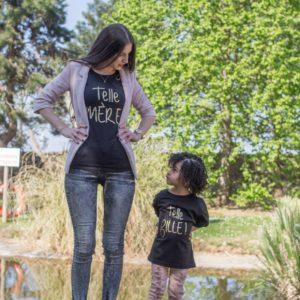 Tee-shirt FEMME «Telle Mère»