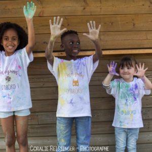 Tee shirt KIDS «Les copains / copines d'abord !» *BIO*