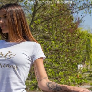 "Tee-shirt adulte ""Big Dreams"""