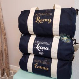 Grand sac polochon personnalisé
