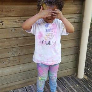 Tee-shirt ENFANT «sacrée famille»