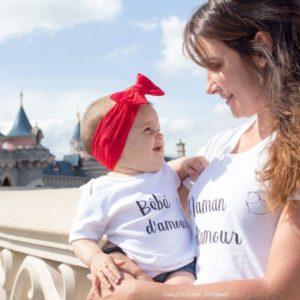 DUO BIO : Maman ou Papa d'amour – Bébé d'amour ou Mini d'amour