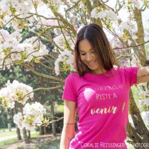 Tee-shirt adulte «Le meilleur reste à venir»
