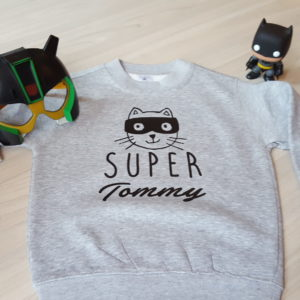Sweat enfant « Super Héros »