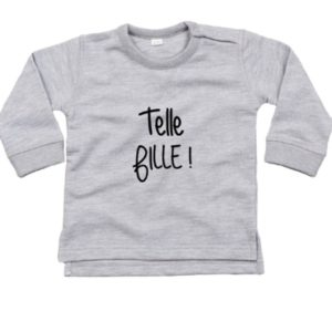 "Sweat ENFANT ""Telle fille"" / ""Tel fils"""