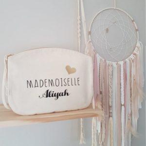 Pochette personnalisée Mademoiselle / Monsieur