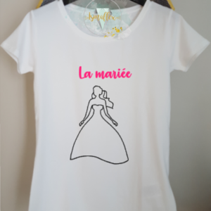 T-Shirt Events Mariage