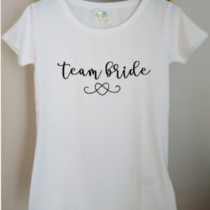T-Shirt Events Mariage Bride & Team