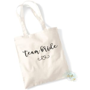 Tote bag Events Bride & Team
