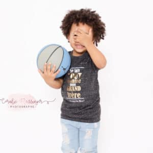 "☆NEW CO☆ Tee-shirt bébé/kids""betises"""