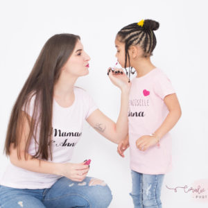 ☆NEW☆Tee-shirt FEMME «Maman de»