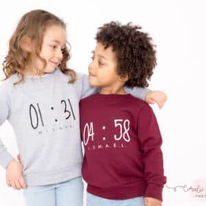 "Sweat ENFANT modèle ""HAPPY HOUR"""