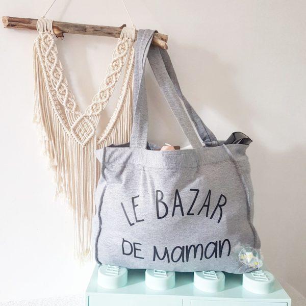 """sac shopping xl """"le bazar de maman"""""""