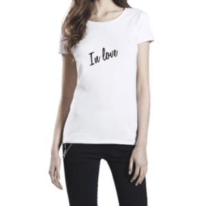 "Tee-shirt adulte ""In love"""