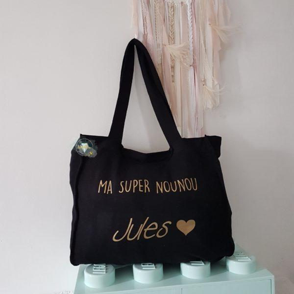 sac shopping XL personnalisé