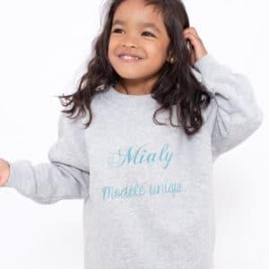 Sweat-shirt, enfant «Modèle unique»