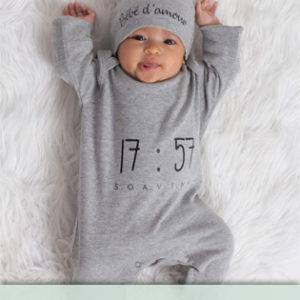 Barboteuse bébé personnalisée
