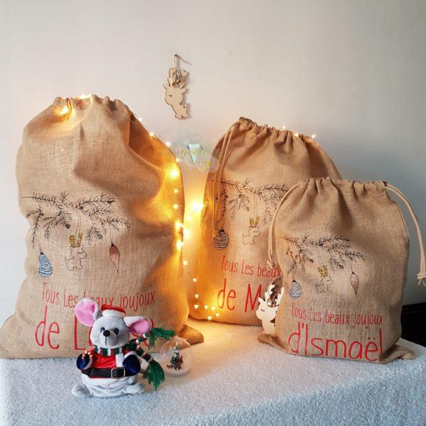 hottes de Noël personnalisées