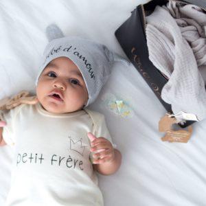 Bonnet bébé personnalisé