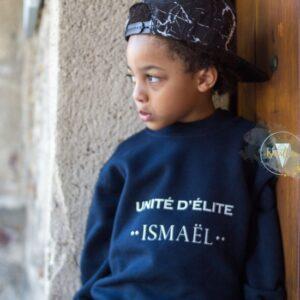 Sweat-shirt, enfant «Unité d'élite»