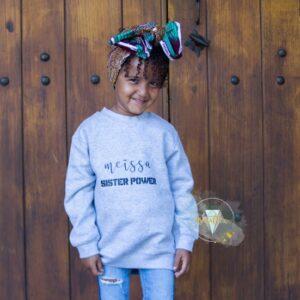 Sweat enfant personnalisé POWER