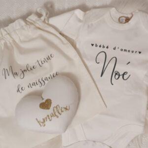 Coffret naissance AUTOMNE / HIVER personnalisé