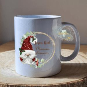 Mug personnalisé couronne Gnome