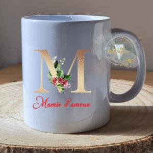 Mug personnalisé Lettre de Noël