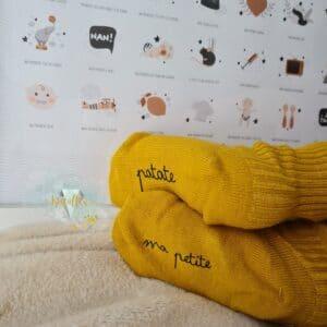Chaussettes bébé personnalisables