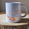 pot à crayons personnalisés thème automne et prénom Sophie