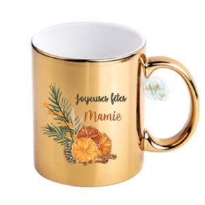 Mug personnalisé Épices de Noël