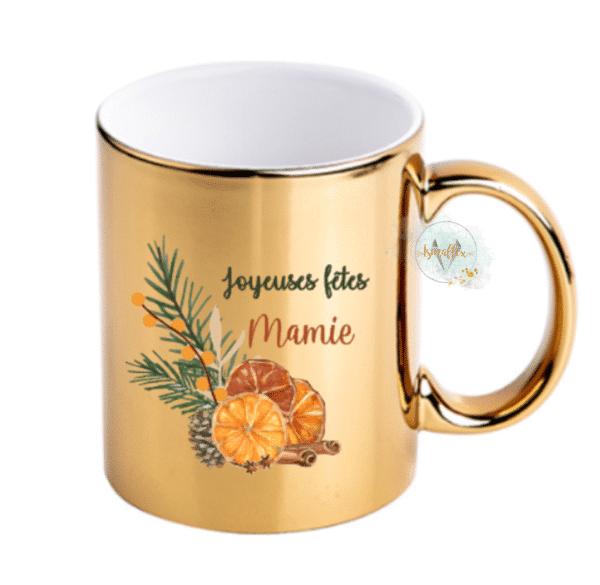 Mug personnalisé épices de Noel